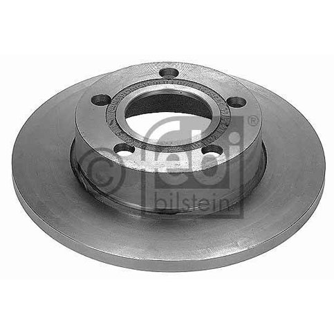 Febi 09077 Brake Disc, Rear