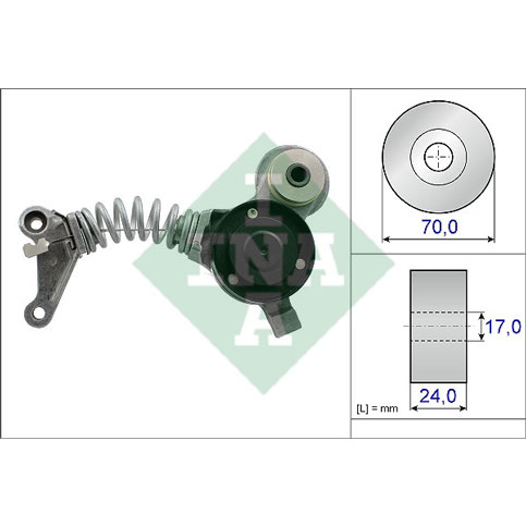 INA 534041910 Alternator Tensioner
