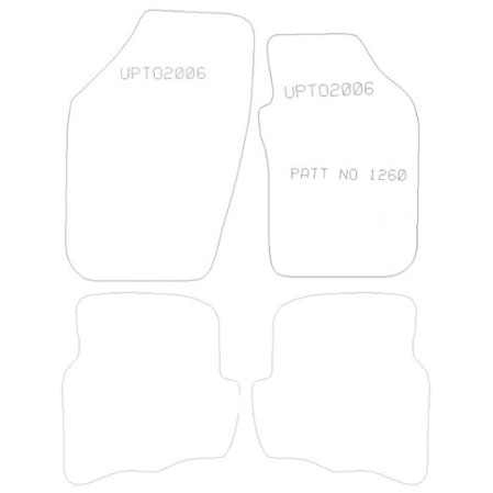 Seat Ibiza 2002-2006 Tailored Mat Set (Grey)