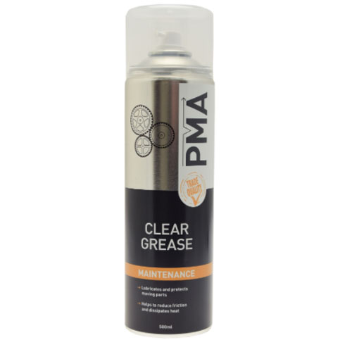 PMA Clear Grease Aerosol 500ml